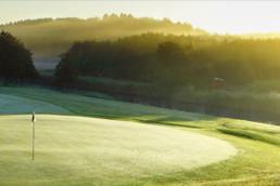 Fjällbacka Golfklubbs golfbana.