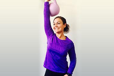 Inspireras av träning och hälsa med Lisa Marie Karlsson