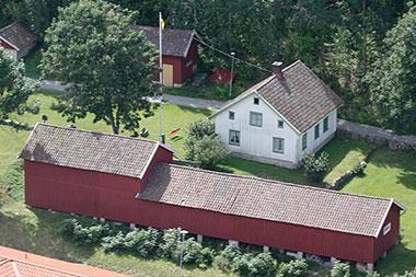 Fjällbackas hembygdsmuseum Nestorgården.