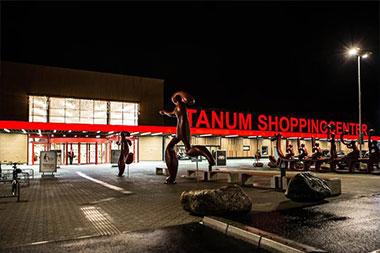 Tanum Shoppingcenter.